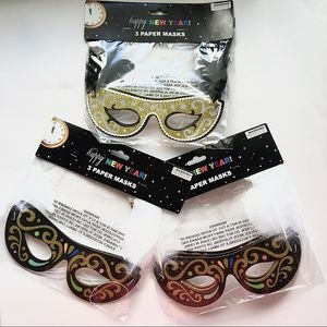 Other - 9 New Party Masks 🎭 Costume Supplies Photo Favors